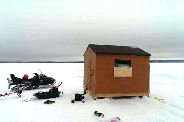 Ice Hut Rental 5